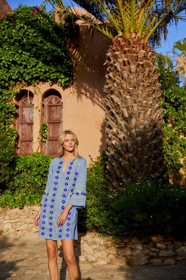 Louise Shift Dress in Tulum