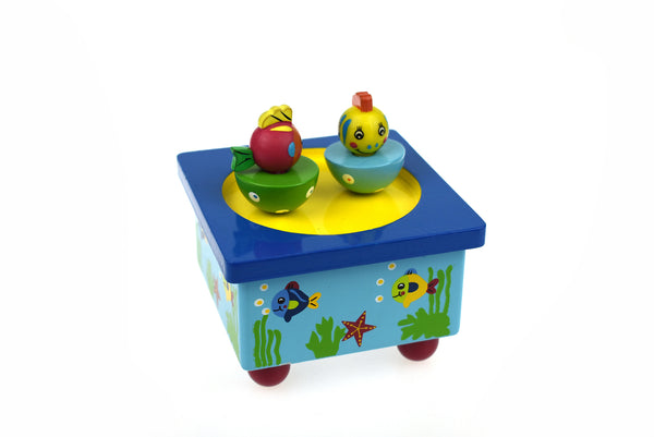 Fish music box
