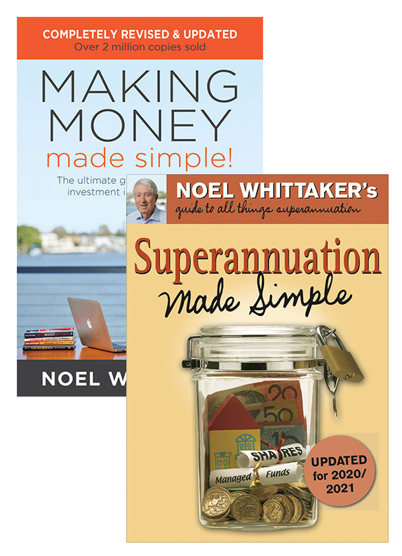 Making Money Made Simple + Superannuation Made Simple Bundle