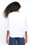 Elm Fundamental Mazie Sweat in White