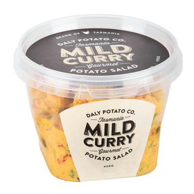 Mild Curry Potato Salad