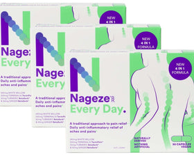 Nageze Every Day 90 Capsules (3 x 30 capsule bundle)
