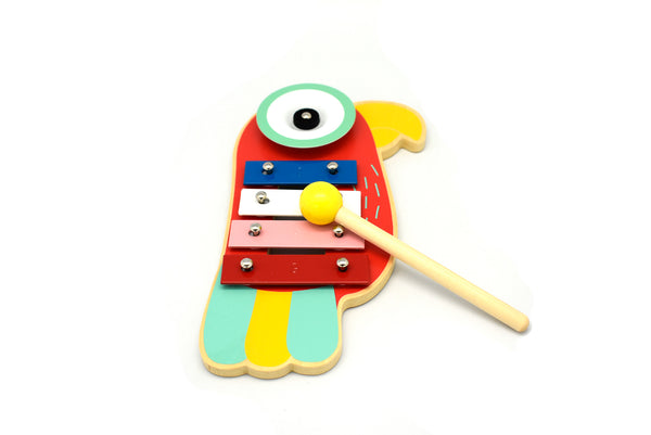 Parrot xylophone