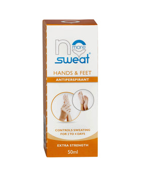 No More Sweat hands & feet - Clinical antiperspirant