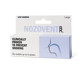 Nozovent Large - Clinically proven anti-snoring device