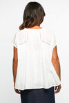 Natasha Shift Top in White