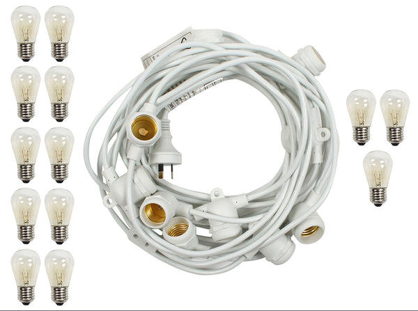 Outdoor Marquee Lights 10m
