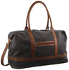 Pierre Cardin Canvas Overnight Bag - Black