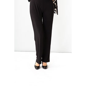 Travel Slim Leg Pant - Black