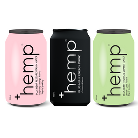 Hemp Mixed Drink Pack (12 cans) - Energy, Restore & Hydrate