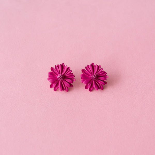 Daisy Midi Earrings (6 Colours Avail)