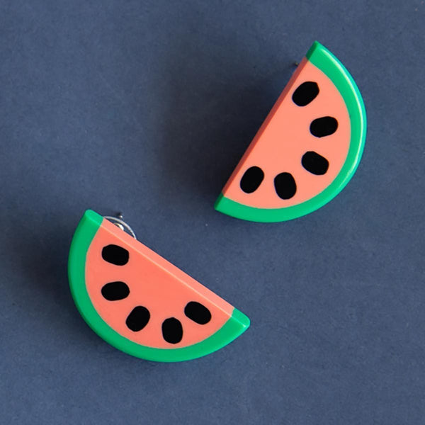 Tutti Frutti Watermelon Earrings