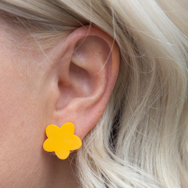 Fleur Stud Earrings (11 Colours Avail)