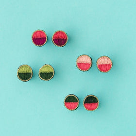 Delicates Time to Party Earrings (4 Options Avail)