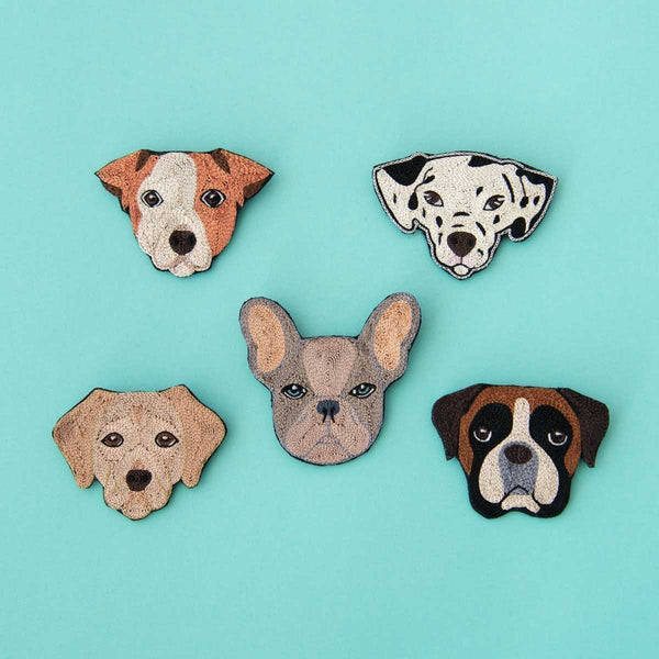 Delicates Puppy Brooches (5 Pups Avail)