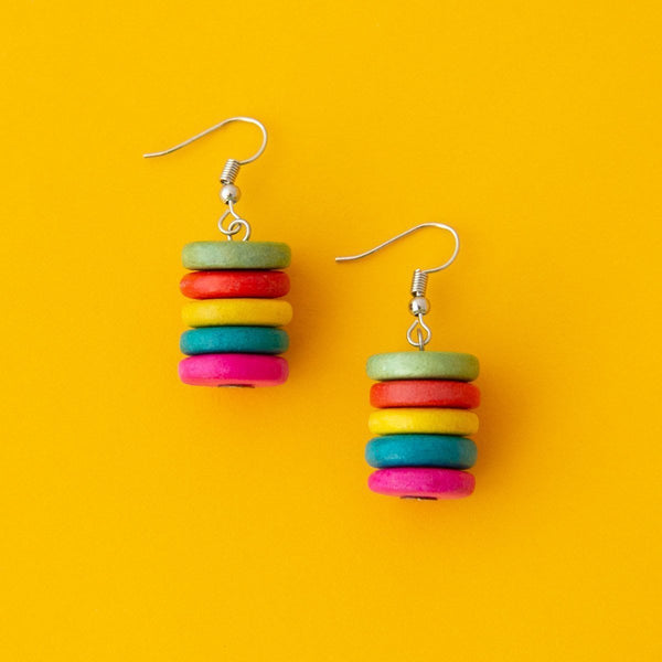 Smartie Stacked Earrings