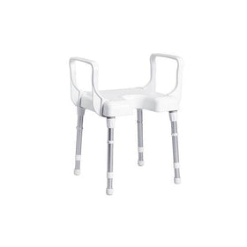 Rebotec Cannes Shower Chair With Arm Rests