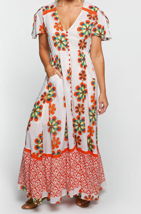 Savelle Maxi Dress in Summer Love