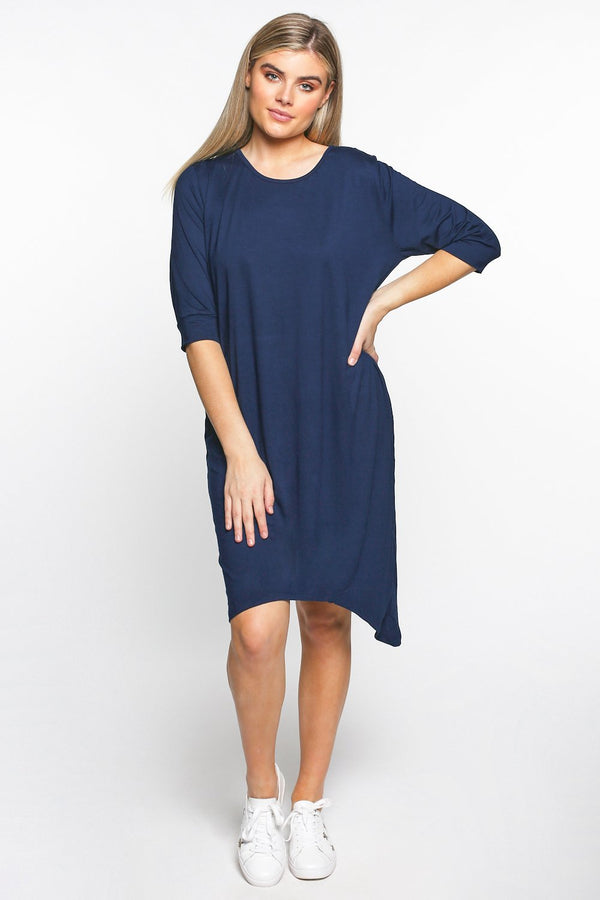 Sportif Dress in Navy