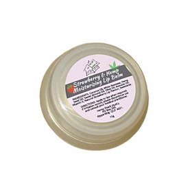 Hemp Seed Oil Infused Strawberry Moisturising Lip Balm 15g