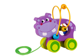 Beads pull along-hippo