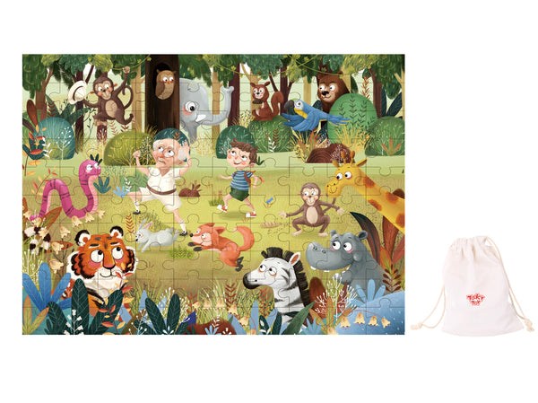 Forest jigsaw puzzle 100pcs