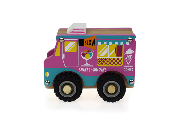 Kd wooden ice cream truck