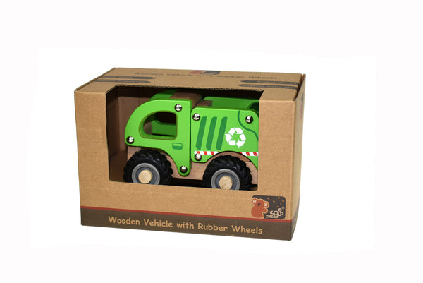 Kd wooden recycle truck