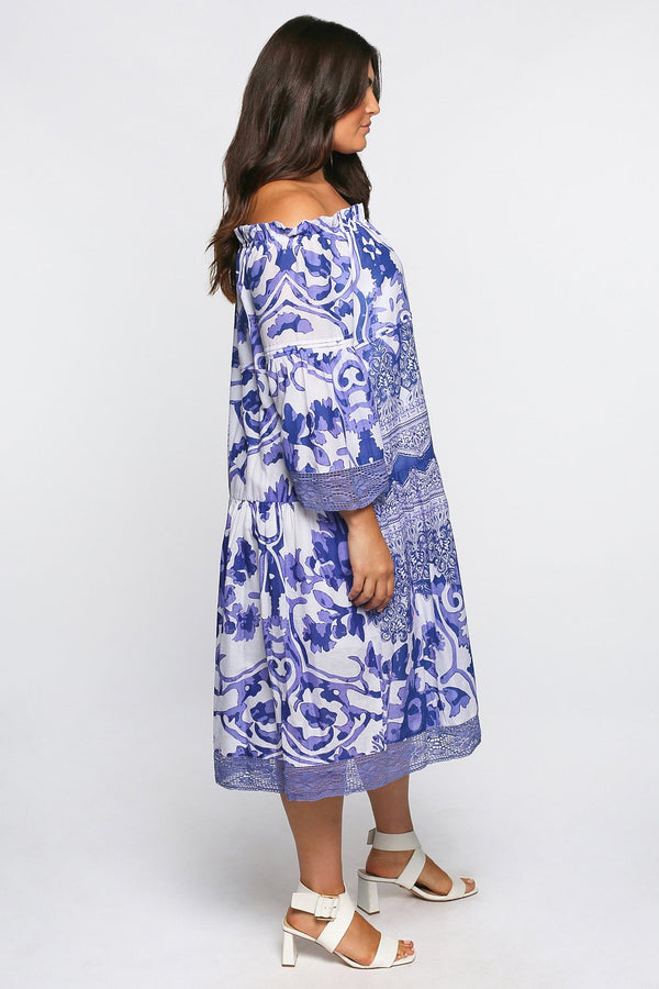 Willa Tiered Dress in Dreamer