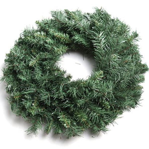 Jingle Jollys 60cm Christmas Wreath Green