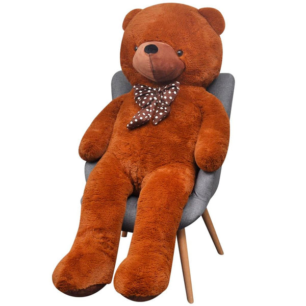XXL Soft Plush Teddy Bear 175 Cm - Brown