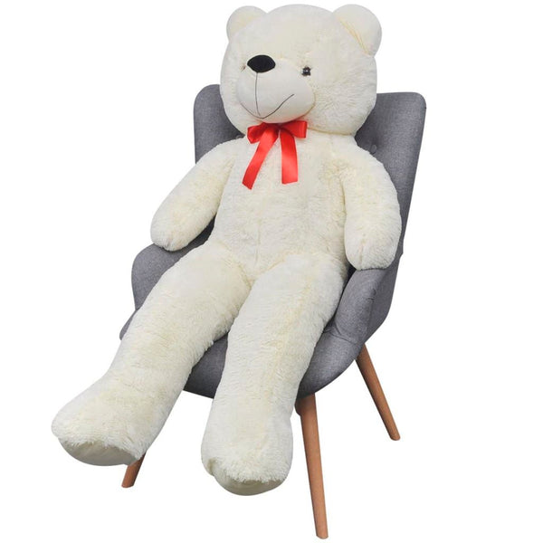 XXL Soft Plush Teddy Bear 175 Cm - White
