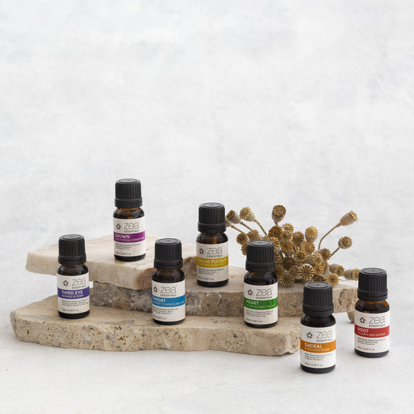 7 x Chakra Essential Oil Blends - Complete Set