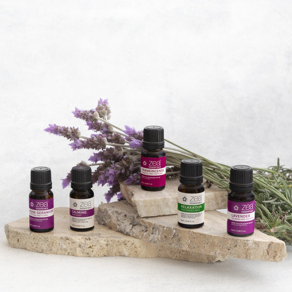 Relaxation Essential Oil Collection