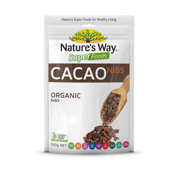 Nature's Way  SUPERFOODS CACAO NIBS 100g