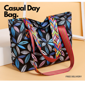 Simpli Nylon Casual Day Bag