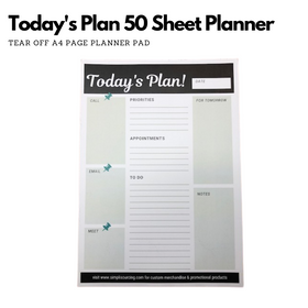 Simpli Daily Planner Today's Plan