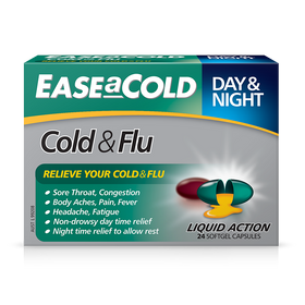 EASEaCOLD Cold & Flu Day/Night 24s