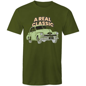 Green FJ Holden - A Real Classic - Starts at 60 Mens Surf T-Shirt (Front only)