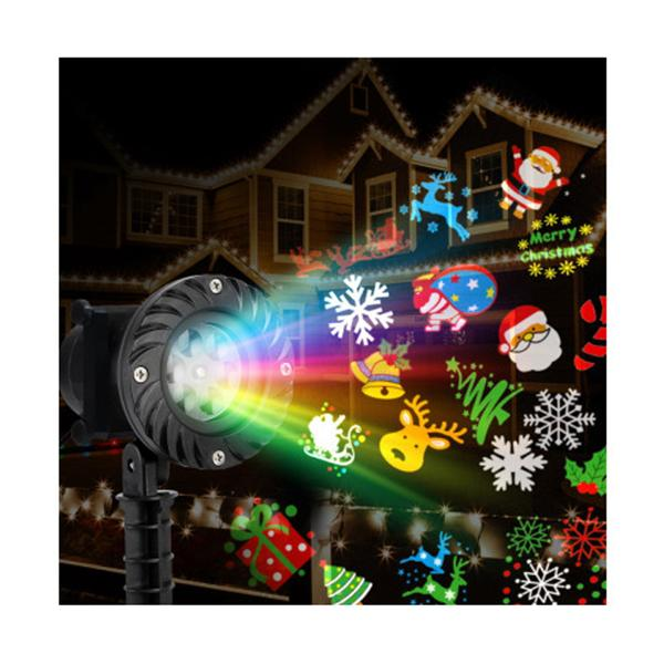 Pattern Led Laser Landscape Projector Light Lamp Christmas Party