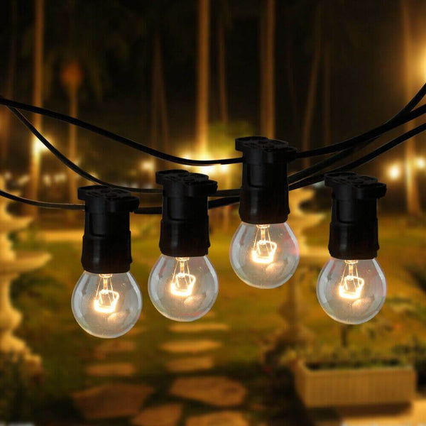 20M Festoon String Lights Kits Christmas Wedding Party Waterproof Indoor/Outdoor