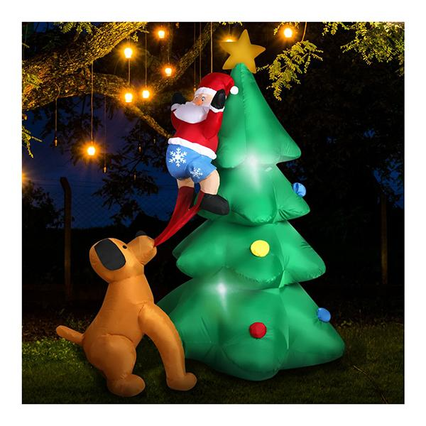 Inflatable Christmas With Led Light Xmas Decoration Outdoor Type 1