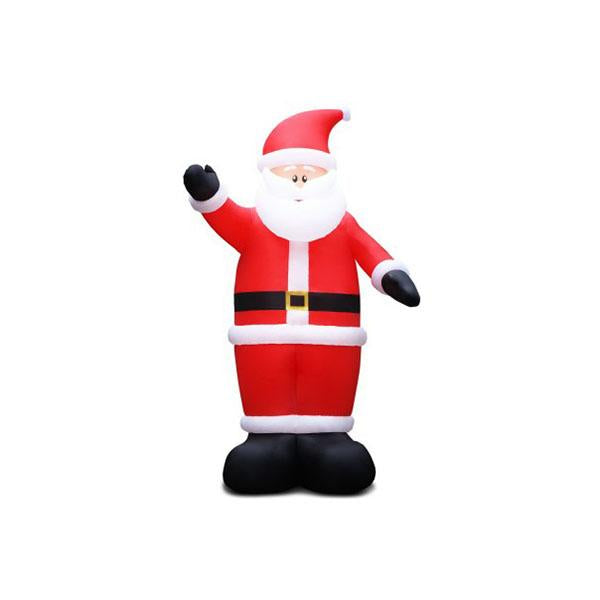 5M Christmas Inflatable Santa Decorations Outdoor Air Power Light