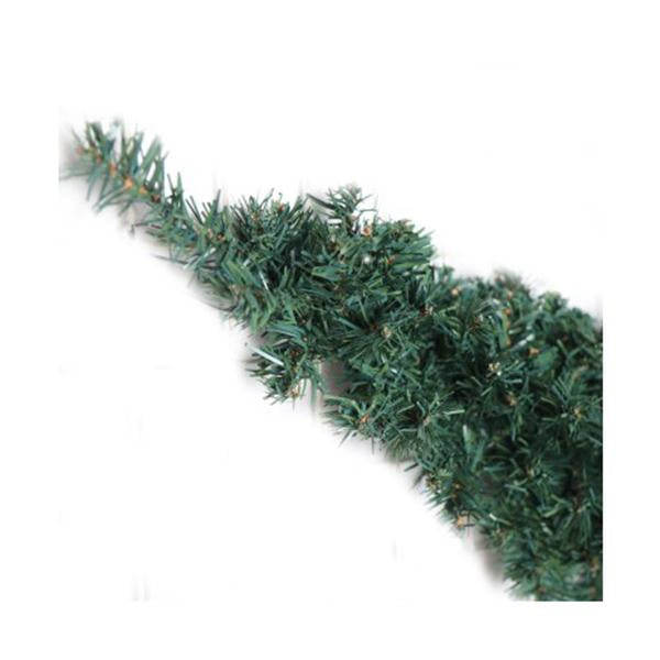 Jingle Jollys 6 Ft Christmas Garland Green
