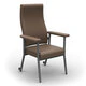 Redgum Katie High Back Chair Mushroom RG630m