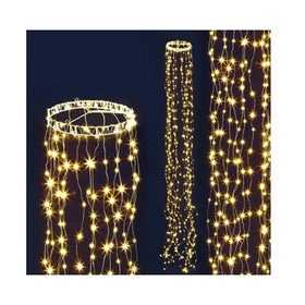 3M Christmas Curtain Fairy Lights String 480 Led Party Wedding