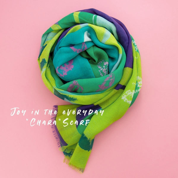 Joy In The Everyday Scarf - Wide (4 Options Avail)