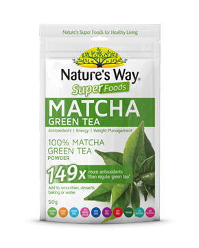 Nature's Way  SUPERFOODS MATCHA GREEN TEA 50g