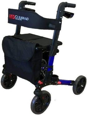 Redgum Compact Side Folding Walker - RG4401 Avail in Red Blue & White