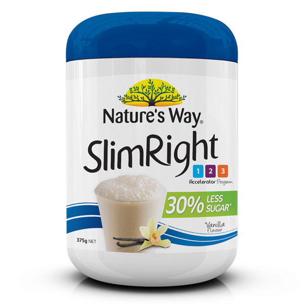 NATURE'S WAY SLIMRIGHT SHAKE VANILLA 375g